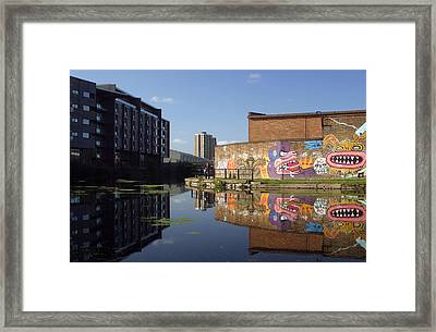 Around The Bend Framed Print by Jez C Self