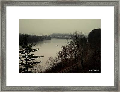 Around The Bend Framed Print by Lois Lepisto