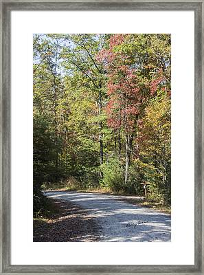 Around The Bend Framed Print by Ricky Dean