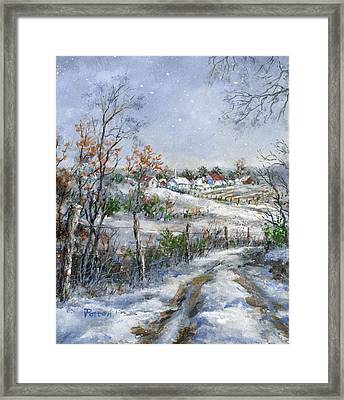 Around The Bend Sold Framed Print