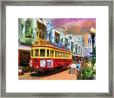 Around The City Framed Print by Anthony Caruso