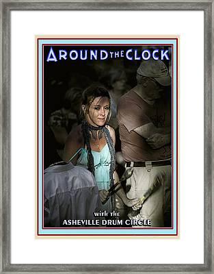 Around The Clock Framed Print