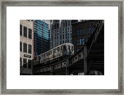 Around The Corner, Chicago Framed Print by Reinier Snijders