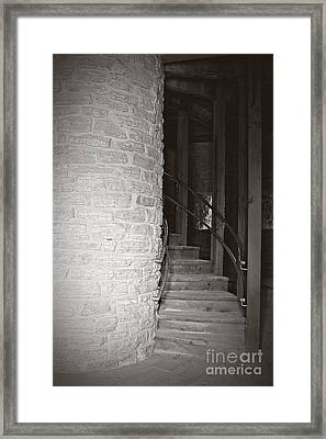 Around The Corner Framed Print