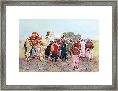 Around The Music Party Framed Print