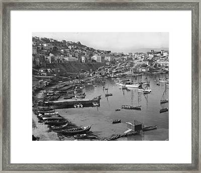 Around This, One Of Three Ancient Framed Print by Maynard Owen Williams