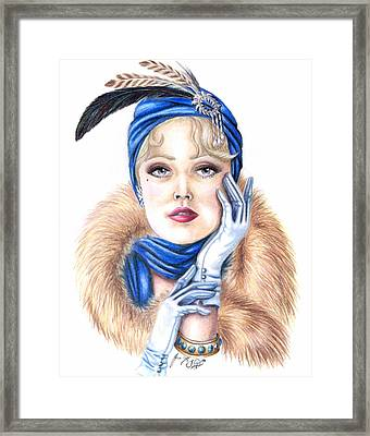 Aroura Framed Print by Scarlett Royal
