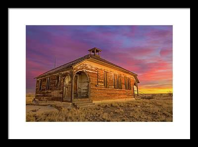 Prairies Photographs Framed Prints