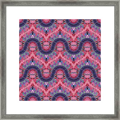 Arrangement 3 Times 3 - T J O D 37 Compilation Framed Print