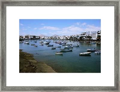 Arrecife - Lanzarote Framed Print by Cambion Art