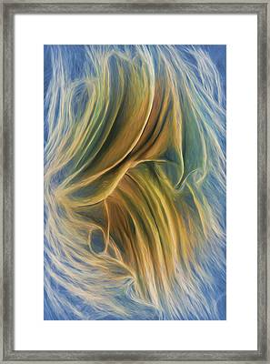 Arrhythmia And Blues Framed Print by Becky Titus