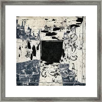 Arrhythmic Number Three Framed Print by Carol Leigh