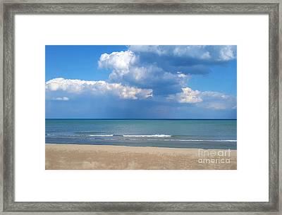 Arrington Lakefront Lagoon Photo Art 01 Framed Print