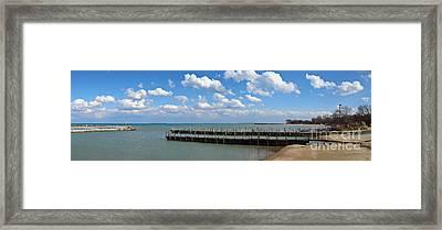 Arrington Lakefront Lagoon Photo Art 02 Framed Print