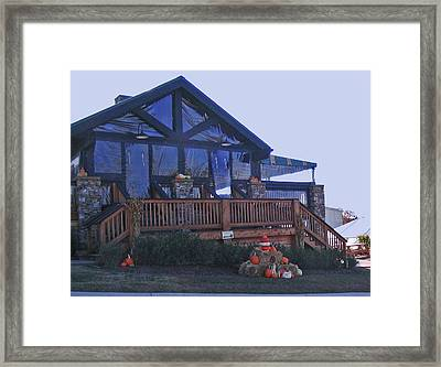 Arrington Vineyards Tasting Lodge Framed Print by Marian Bell
