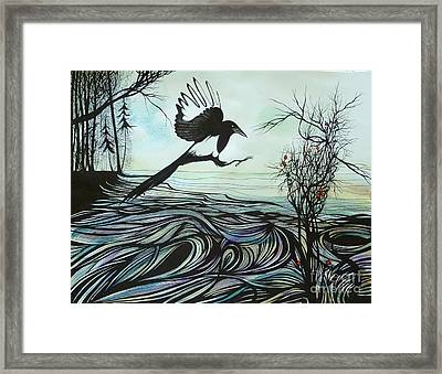 Arrival Of Autumn Framed Print