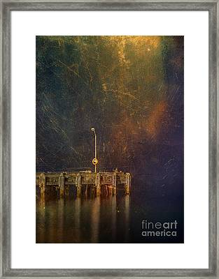 Arrival Framed Print by Russ Brown