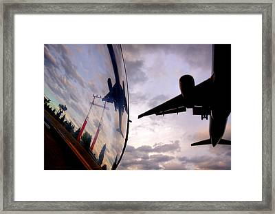 Arrival...  Framed Print by Russell Styles