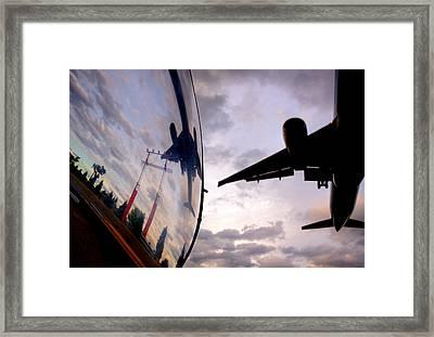 Arrival...  Framed Print