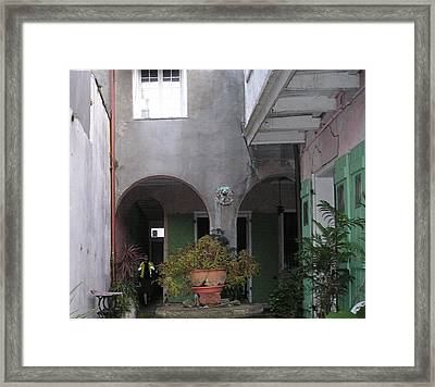 Arrival Framed Print by Tom Hefko
