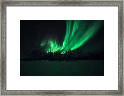 Arrival Framed Print by Tor-Ivar Naess