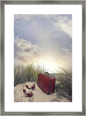 Arrived At Sunset Framed Print by Joana Kruse