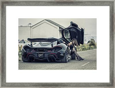 Arriving Framed Print by ItzKirb Photography