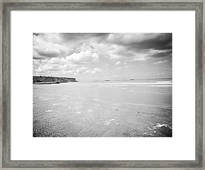 Arromanches-les-bain Framed Print