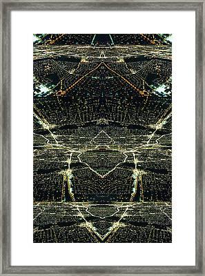 Framed Print featuring the photograph Arrow Down by Karni Dorell