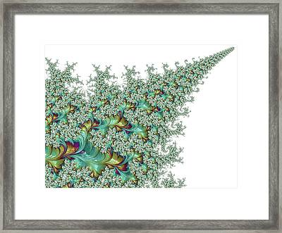 Arrow Of Time Framed Print by Susan Maxwell Schmidt