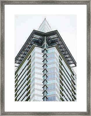 Framed Print featuring the photograph Arrowhead Architecture by Chris Dutton