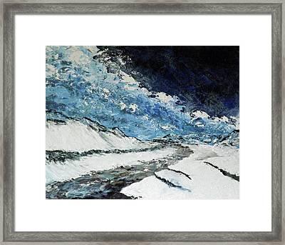Arroyo Bend Framed Print