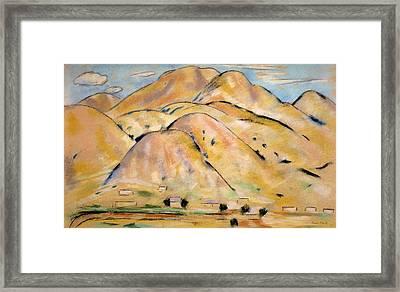 Arroyo Hondo Framed Print by Marsden Hartley