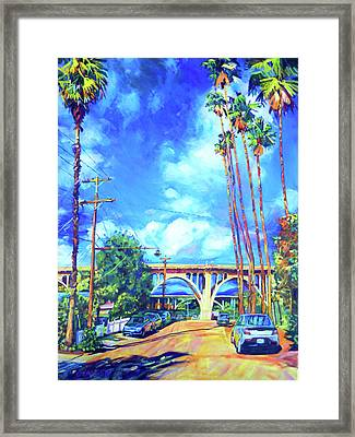Arroyo Palms Framed Print