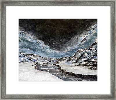 Arroyo Pass Framed Print