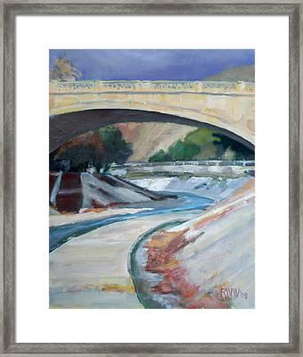 Arroyo Seco Framed Print by Richard  Willson