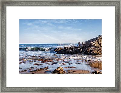 Arroyo Sequit Creek Surf Riders Framed Print