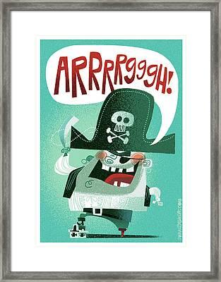 Arrrrggh Framed Print