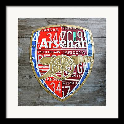Arsenal Football Framed Prints