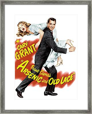 Arsenic And Old Lace, Priscilla Lane Framed Print by Everett