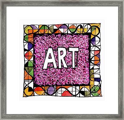 Art 1  Framed Print by Andy  Mercer