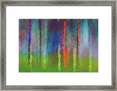 Art Abstract Framed Print by Jim Hatch