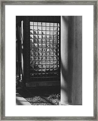 Art And Design Center Northeast Entrance Framed Print by Jim Furrer