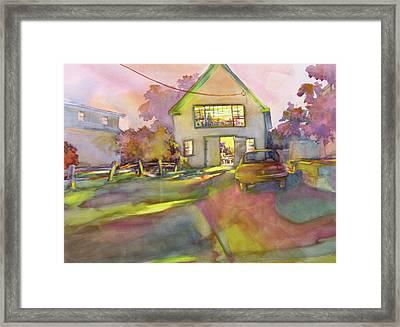 Art Barn, Point Clyde No. 4 Framed Print by Virgil Carter