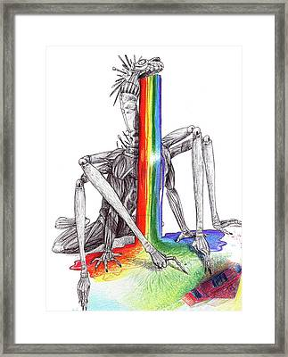 Art Becomes You 2 Framed Print by Cara Bevan