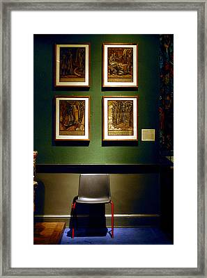 Art Chair Framed Print by Jez C Self