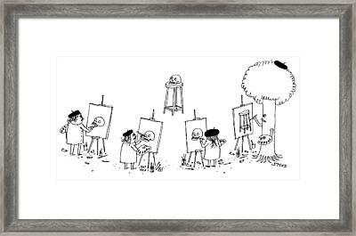 Art Class Framed Print