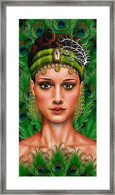 Art De L'esprit Framed Print