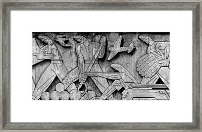 Art Deco 7 Framed Print by Andrew Fare
