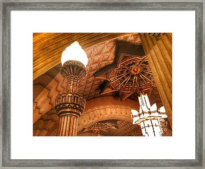 Art Deco Ceiling Framed Print